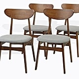 Modern Set of  4 Yumiko Side Chairs