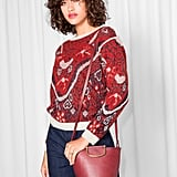 Jacquard Embroidery Knit