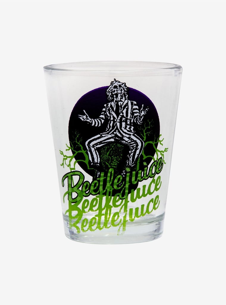 Beetlejuice Mini Glass