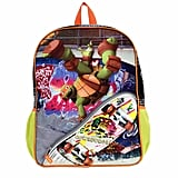 TMNT Skateboarding Turtles Backpack