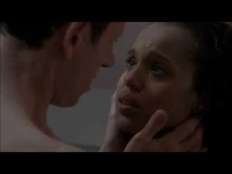 Fitz Chooses and Earns Olivia —in the Shower