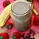 Chocolate Strawberry Banana PB Smoothie