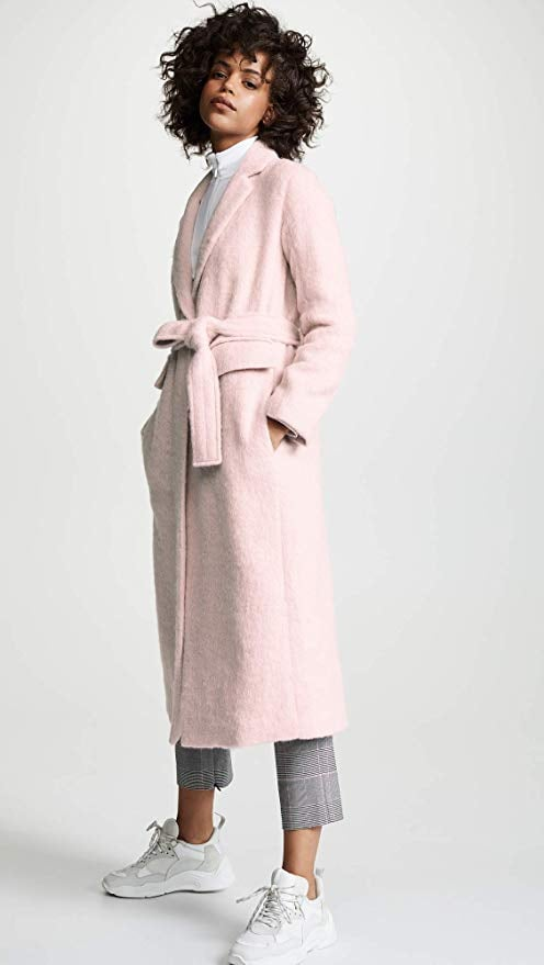 Vince Long Hair Coat