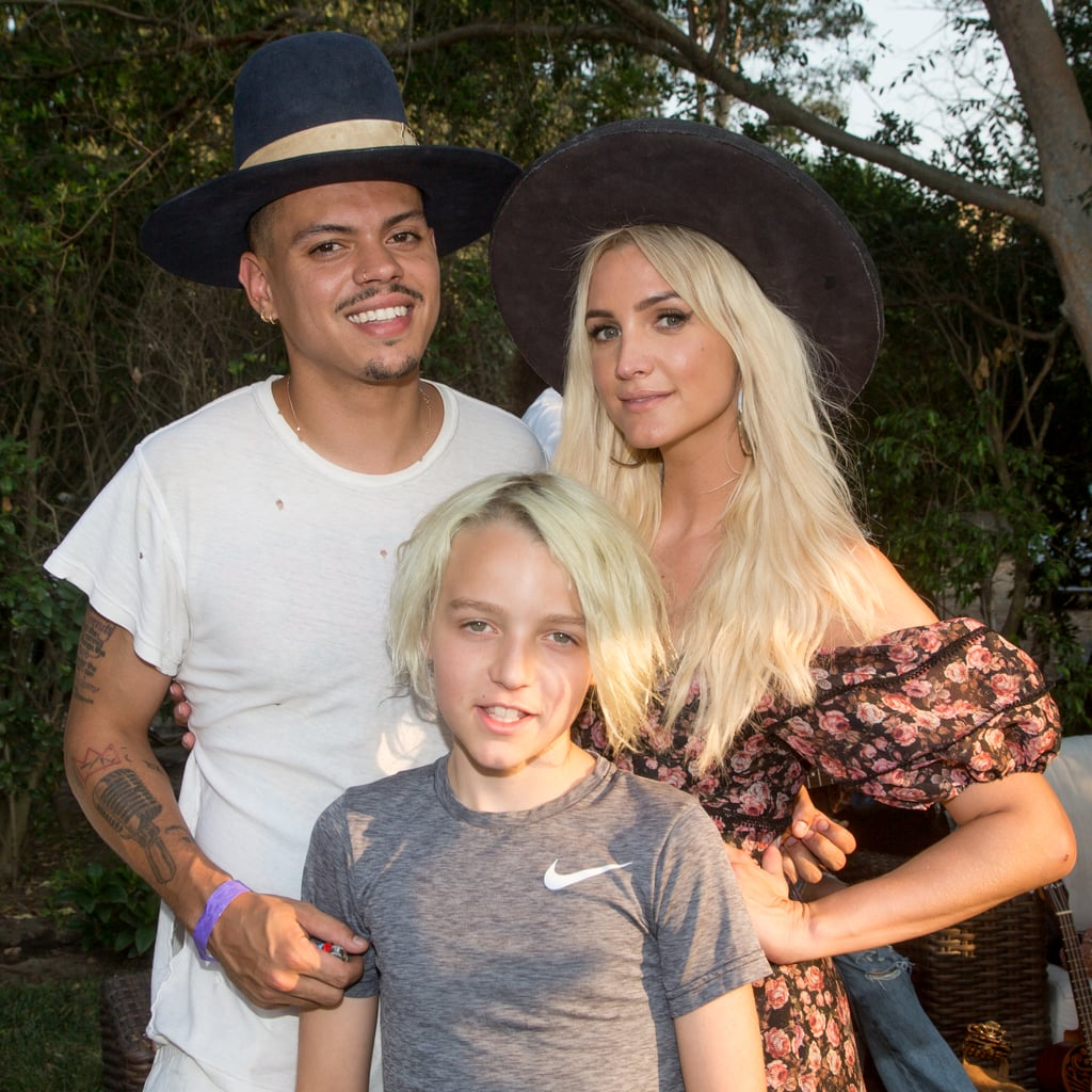 Ashlee Simpson's son is getting so big! On Saturday, Ashlee and Evan Ross attended a fundraiser for cancer in LA and brought along 9-year-old Bronx (whom Ashlee shares with ex-husband Pete Wentz). The trio were as cute as can be as they posed for pictures together and linked up with CeeLo Green and his wife, Shani James. At one point, Ashlee and Evan even took the stage for a special performance. Sadly, their daughter Jagger didn't join them this time around, but she and Ashlee recently attended a makeup event in LA.  Ashlee and Evan are currently gearing up for the premiere of their E! docuseries ASHLEE+EVAN. The show, which debuts on Sept. 9, will follow the couple as they juggle their lives as parents and musicians. In addition to hearing new music from the pair, we'll also be treated to even more adorable glimpses of their family. We can't wait!