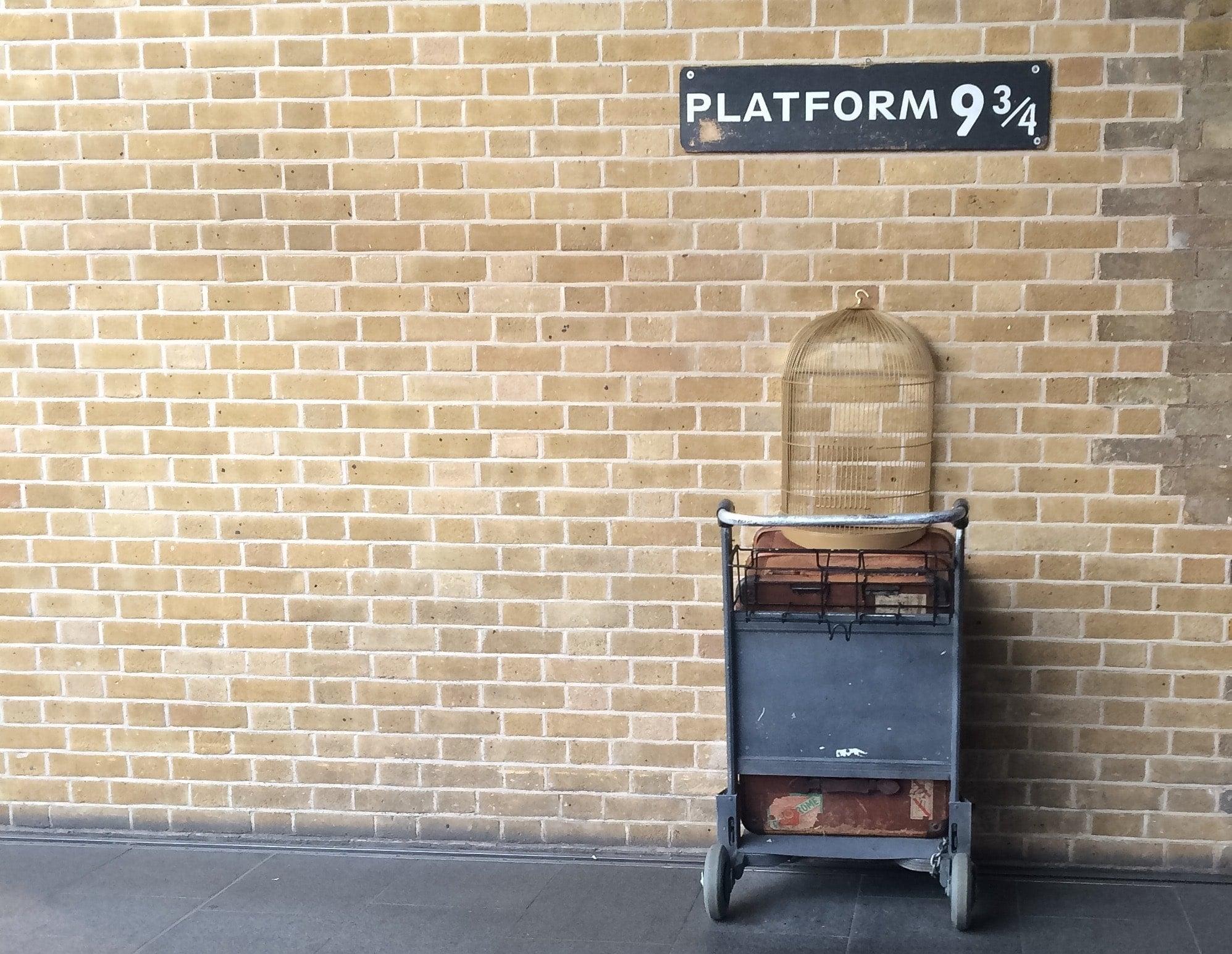Harry Potter Platform 9 3 4 Zoom Background Transport Yourself