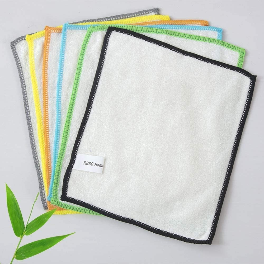 Swap Paper Towels For Bamboo Dish Wipes or Washable Dishrags