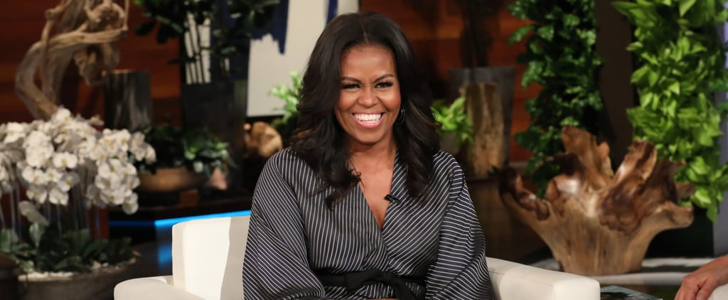 Michelle Obama Talks About Malia's Prom on Ellen 2018