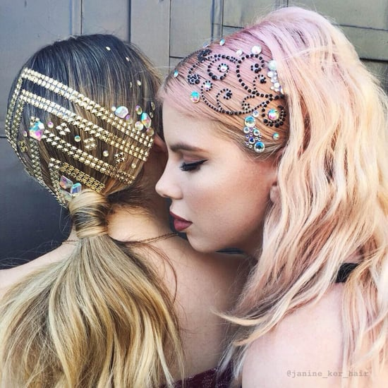 Jeweled Hair Inspiration
