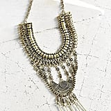 Urban Outfitters Golden Chime Statement Necklace