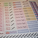 IVF Planner Stickers