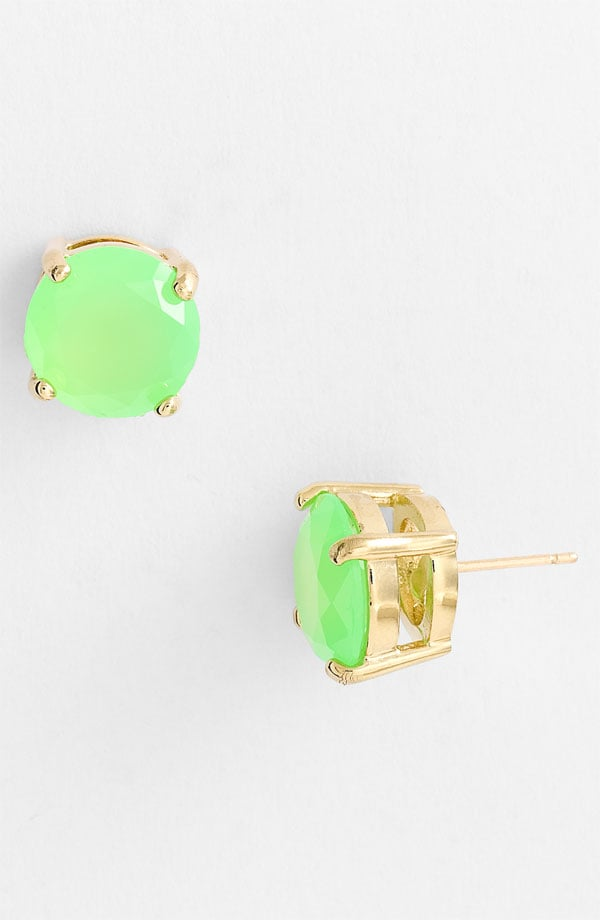 Kate Spade New York Colored Stone Stud Earrings ($38)