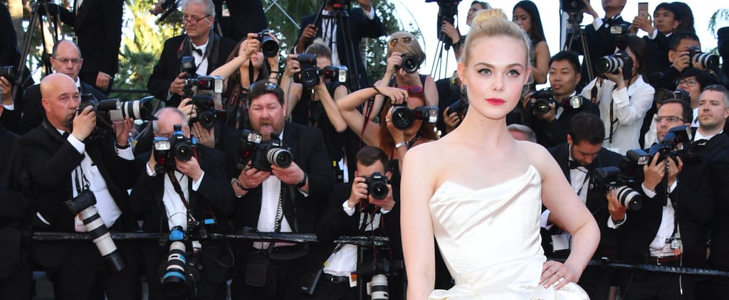 Elle Fanning Dressed Like Grace Kelly at Cannes, and the Resemblance Is Uncanny