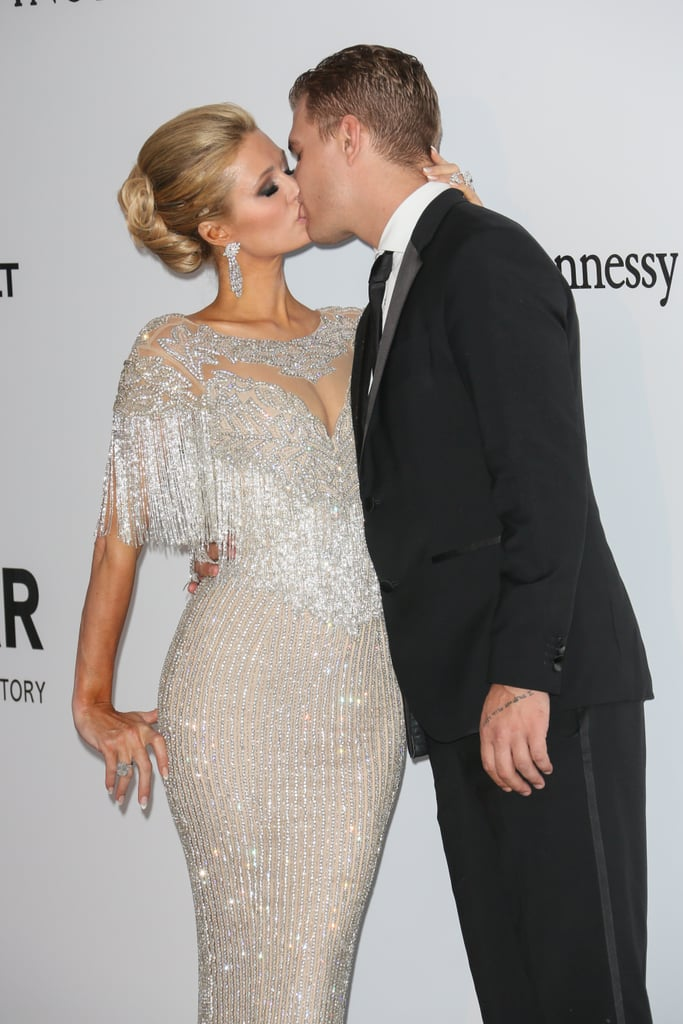 "Paris Hilton and Chris Zylka recently got engaged after nearly a year of dating. The 32-year-old actor popped the question to the 36-year-old heiress with a massive 22-carat diamond ring during a holiday ski trip in Aspen, CO, and that's just one of the many sweet moments the couple has shared together. In addition to their PDA-filled red carpet appearances, the picture-perfect pair often documents their trips and special milestones on Instagram. Shortly after they got engaged, Paris couldn't help but gush about her other half on social media, writing, ""So happy & excited to be engaged to the love of my life. My best friend & soulmate. Perfect for me in every way. So dedicated, loyal, loving & kindhearted. I feel like the luckiest girl in the world! You are my dream come true!"" Perhaps fairy tales do exist."