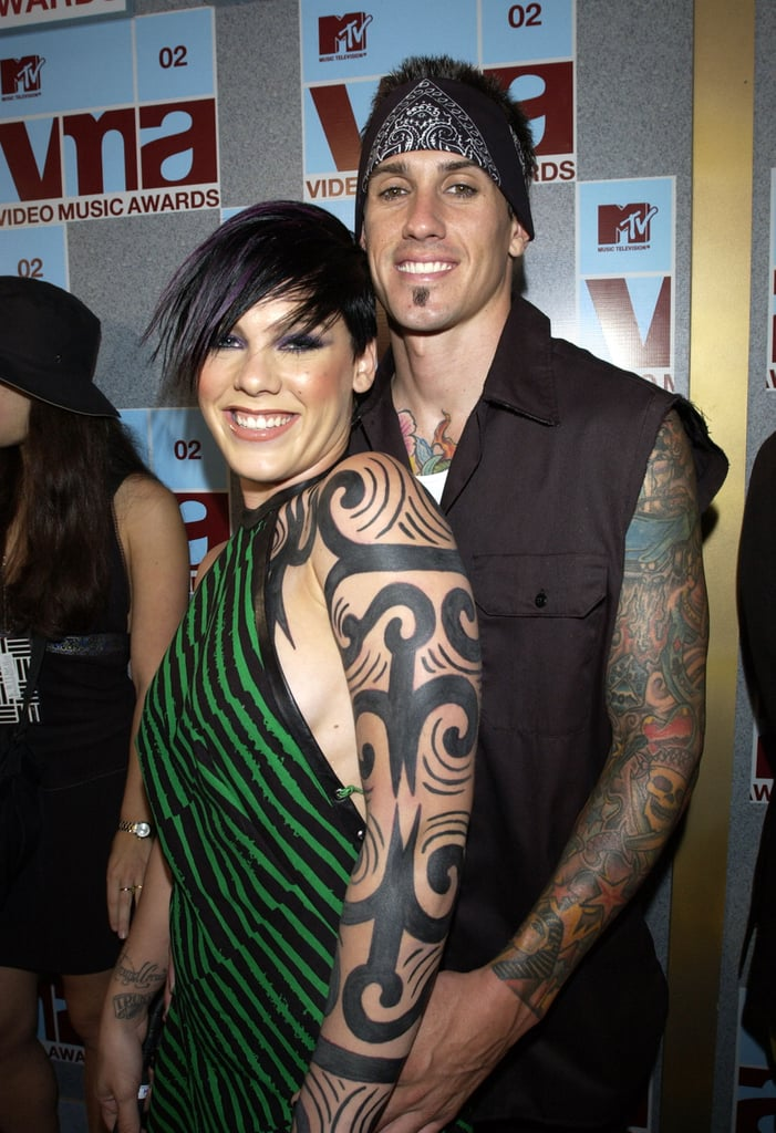 Pink and Carey Hart, 2002