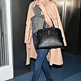 Miranda Kerr made a stylish landing on Friday in Japan.