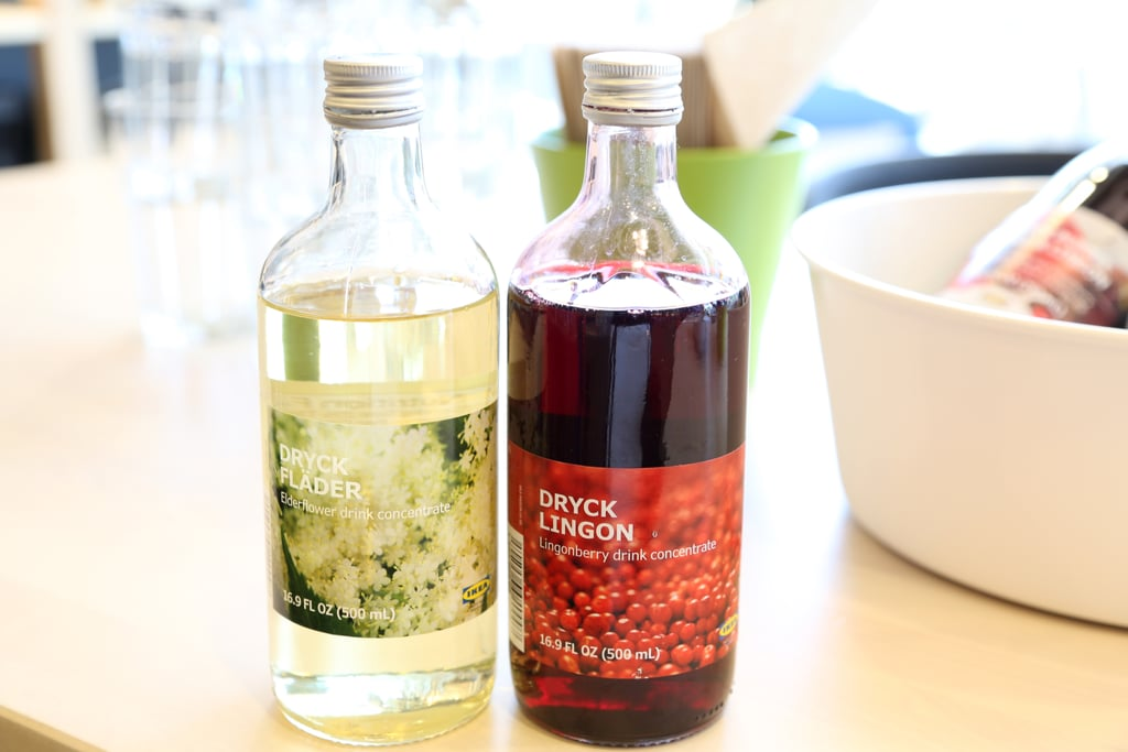 Elderflower and Lingonberry Syrups ($5)