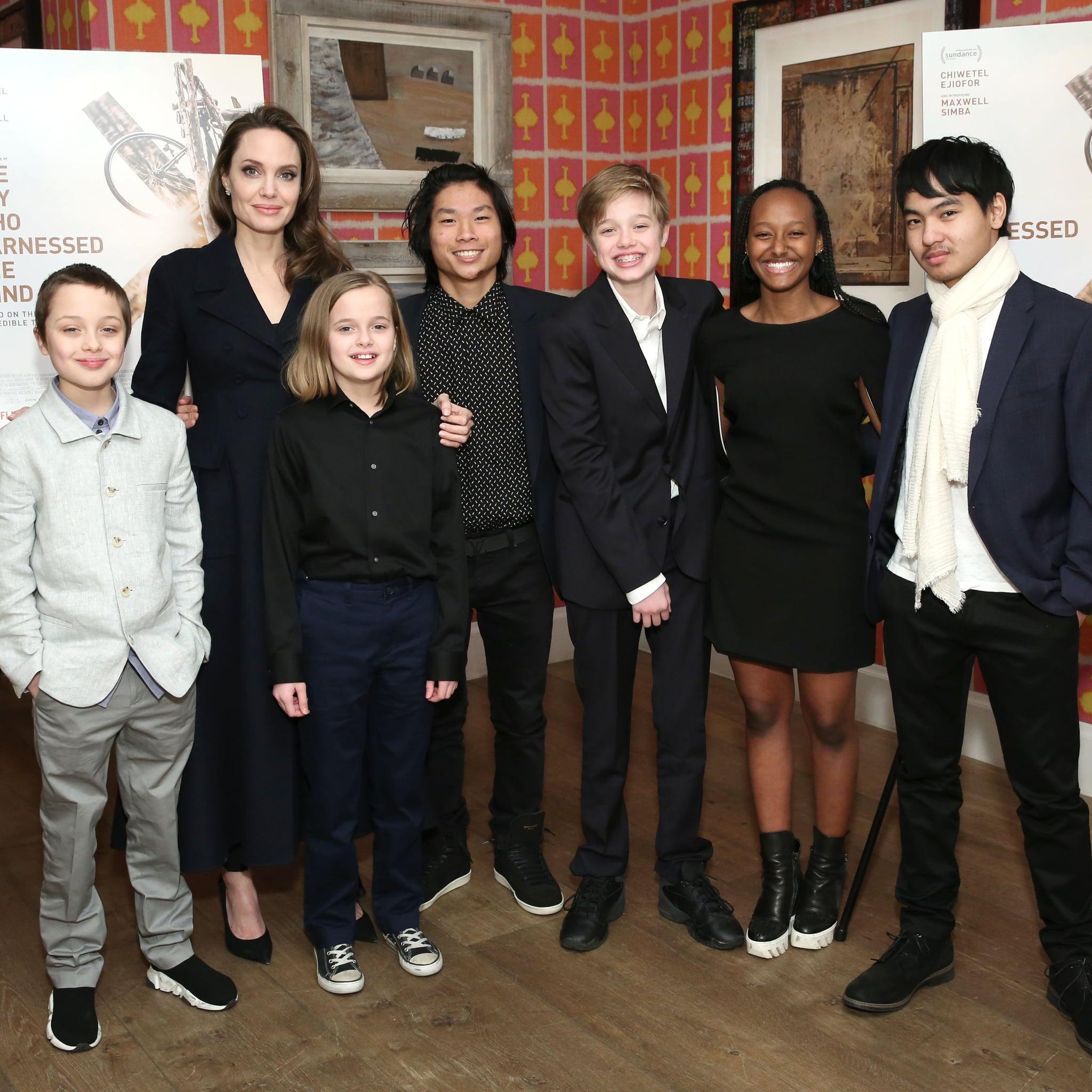How Many Kids Do Angelina Jolie and Brad Pitt Have? | POPSUGAR Family