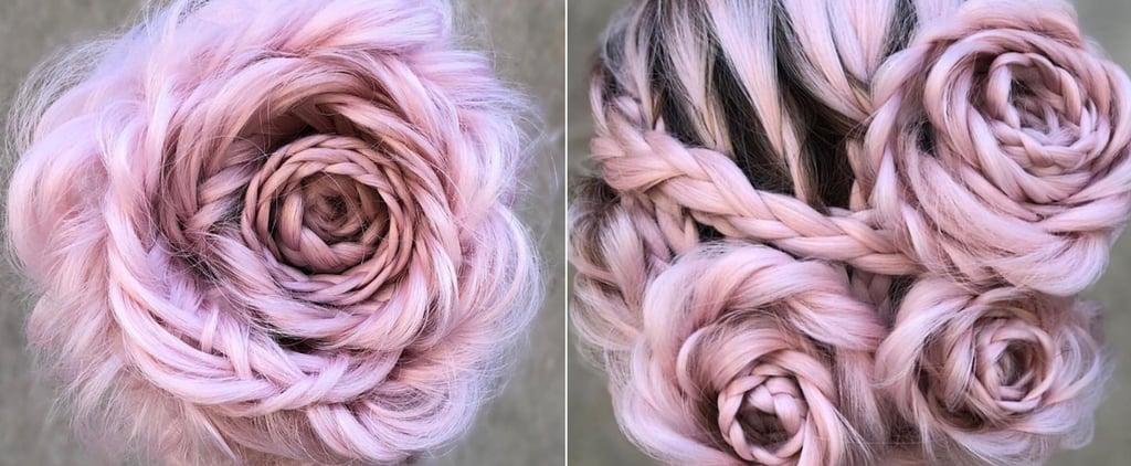 Braided Rose Hairstyle Tutorial