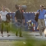 James Middleton, Kate Middleton, and Prince William touched down in St. Lucia fresh from Mustique.