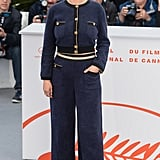 Selena Gomez Chanel Suit Cannes 2019