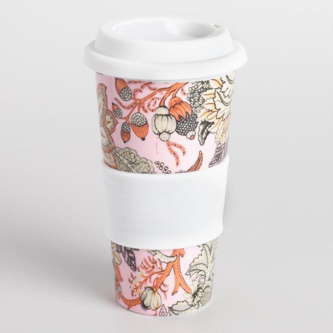 World Market Aerin Floral Travel Cup
