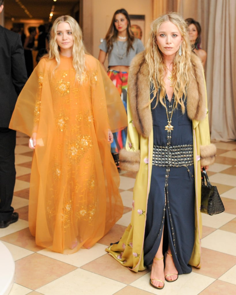 Mary-Kate and Ashley Olsen were double trouble inside NYC's Met Gala.  Source: Billy Farrell/BFANYC.com