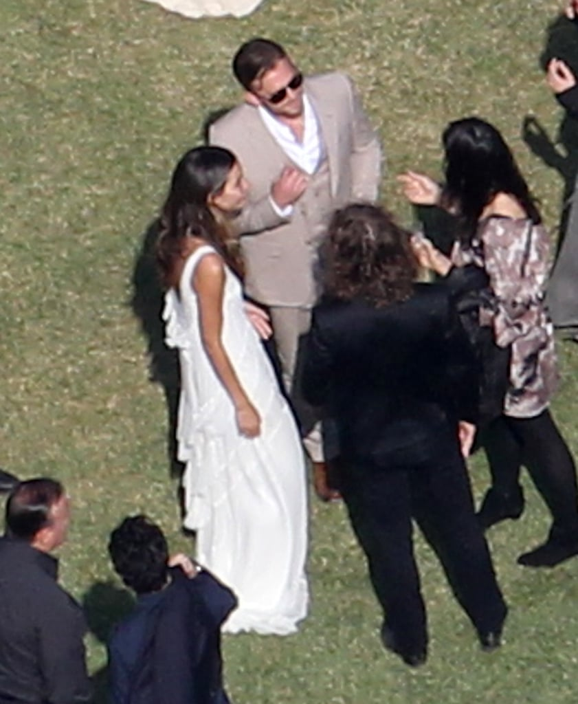 pictures of lily aldridge and caleb followills wedding