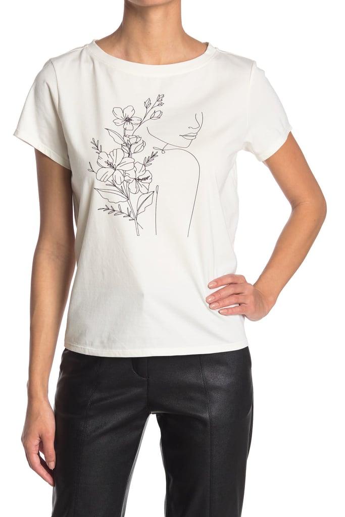 Mauby Line Graphic T-Shirt