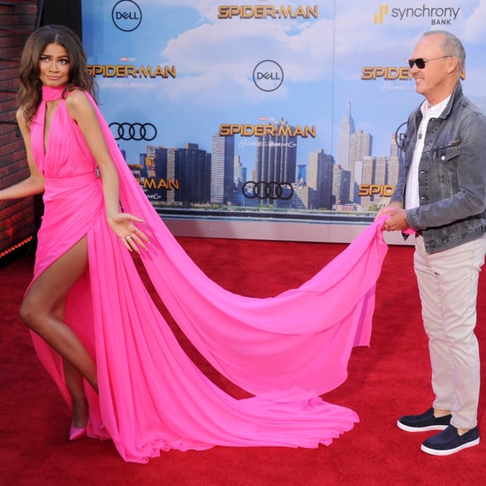 Zendaya and Michael Keaton at Spider-Man Premiere in LA
