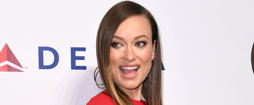 Olivia Wilde Gets Fancy While Flaunting Her Growing Baby Bump at an Event