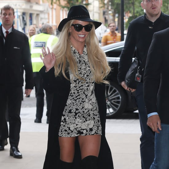 Britney Spears Out in London September 2016 Pictures