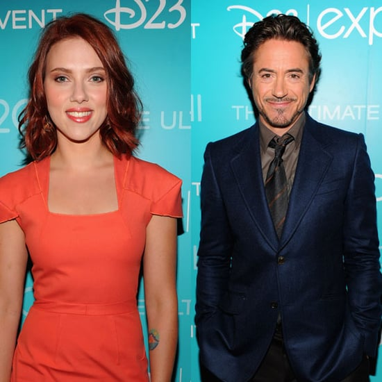 Scarlett Johansson and The Avengers Cast at D23 Pictures