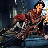Jasmine and Sleeping Beauty in the Balmain Fall 2015 Ad Campaign