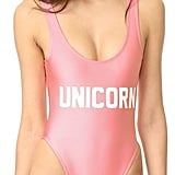 Private Party Unicorn One-Piece Swimsuit