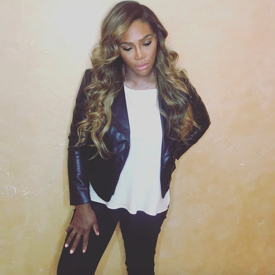 Serena Williams Blonde Hair December 2017