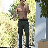 Tyler Posey Shirtless in LA Pictures November 2016