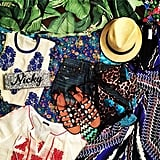 Bright prints banished Nicky Hilton's Winter blues. Source: Instagram user nickyhilton