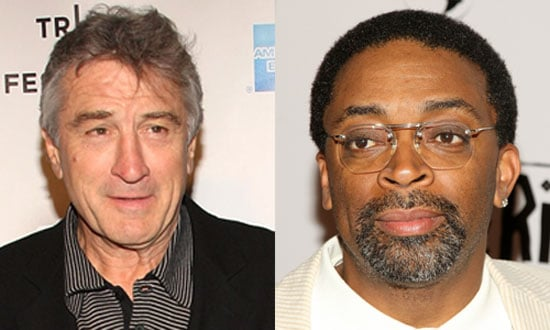 Robert De Niro and Spike Lee At Work on Showtime Series Alphaville