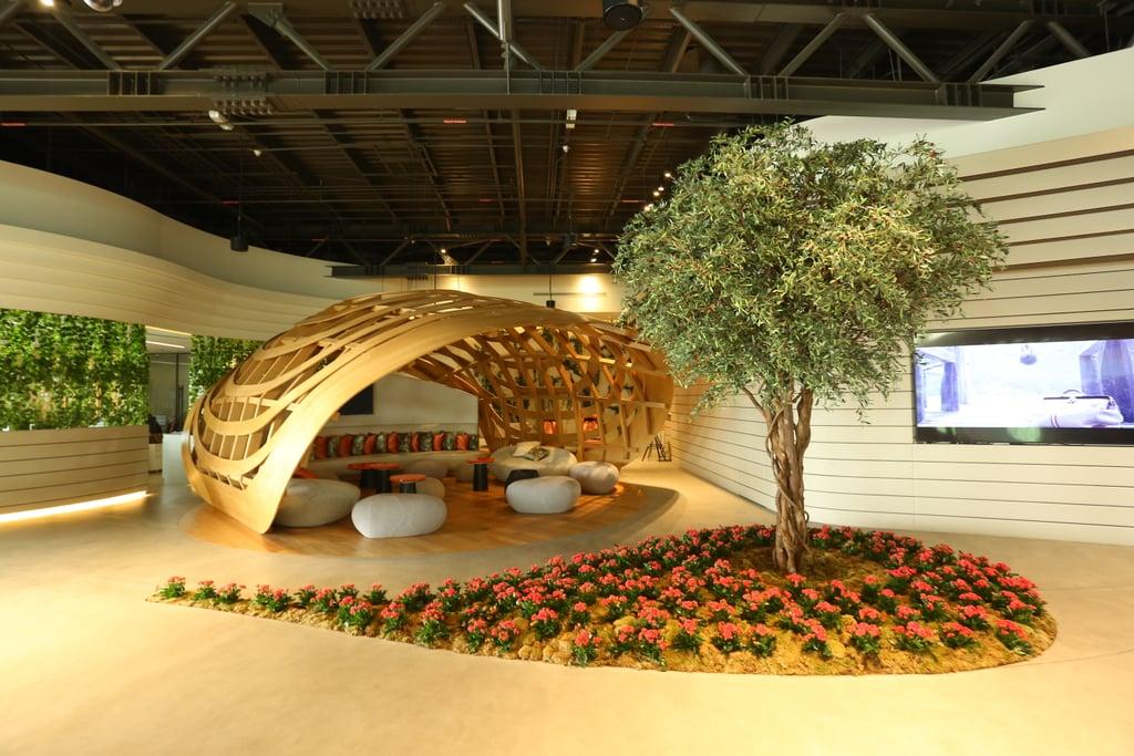 مبنى جيتيكس الخاص في مطار دبي الجنوب