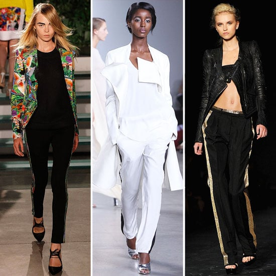 Sporty Track Silhouettes