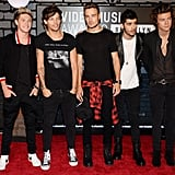 One Direction hit the red carpet at the MTV VMAs.