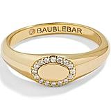BaubleBar Oval Pavé Statement Ring
