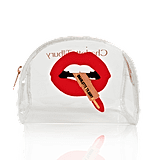 Charlotte Tilbury Hot Lips 2 Clear Makeup Bag