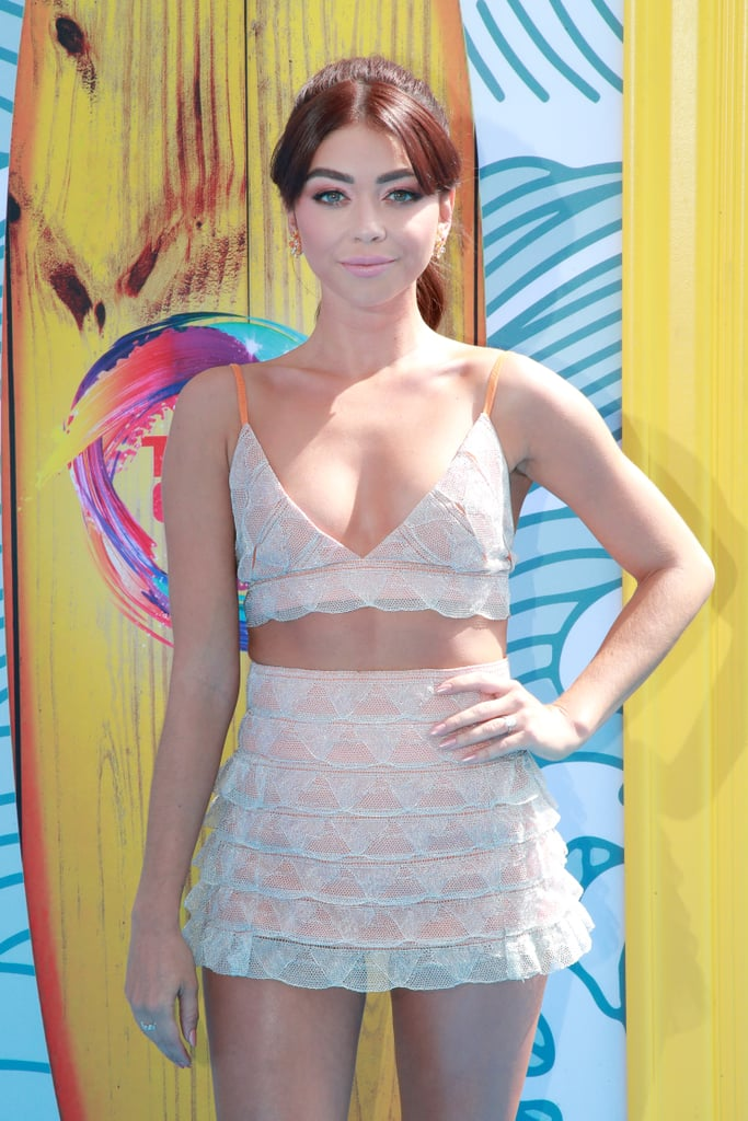 Sarah Hyland at the 2019 Teen Choice Awards