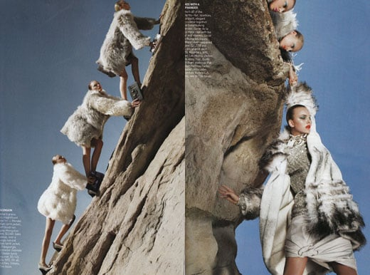 Vogue October 2008 Ends With a Cliffhanger