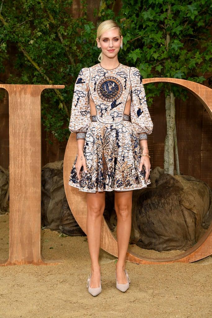 Chiara Ferragni at the Dior Paris Fashion Week Show