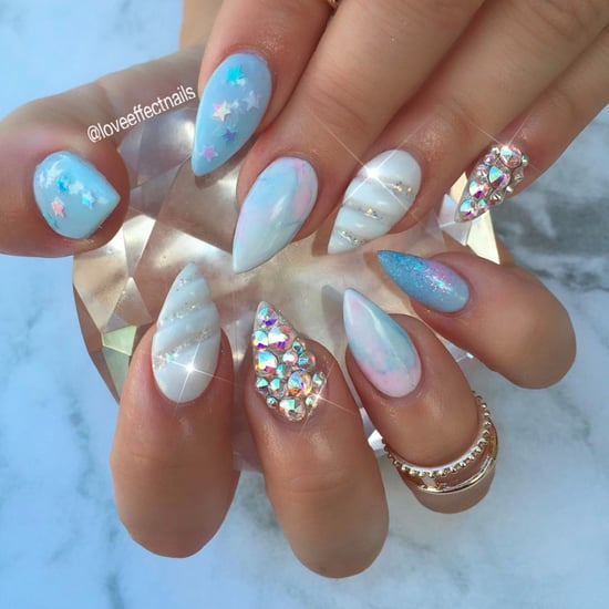 3D Unicorn Horn Nails