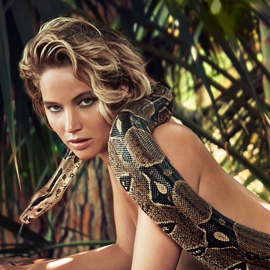 Jennifer Lawrence Nude Snake Photo in Vanity Fair