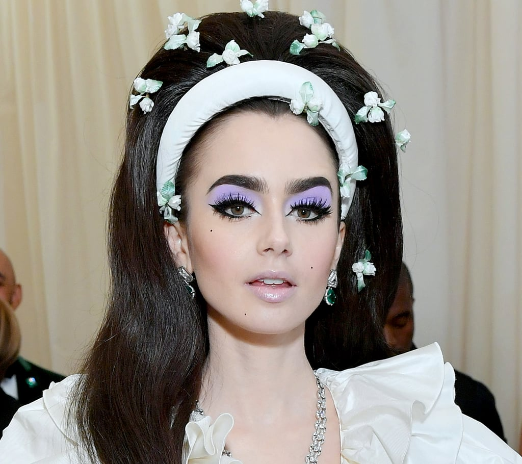 Extreme Lashes at Met Gala 2019