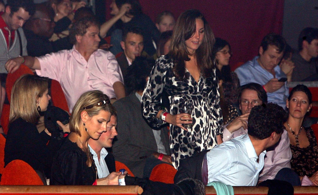 All eyes were on Kate Middleton in January 2008 when she took her seat at a performance of AFRIKA! AFRIKA! in London.